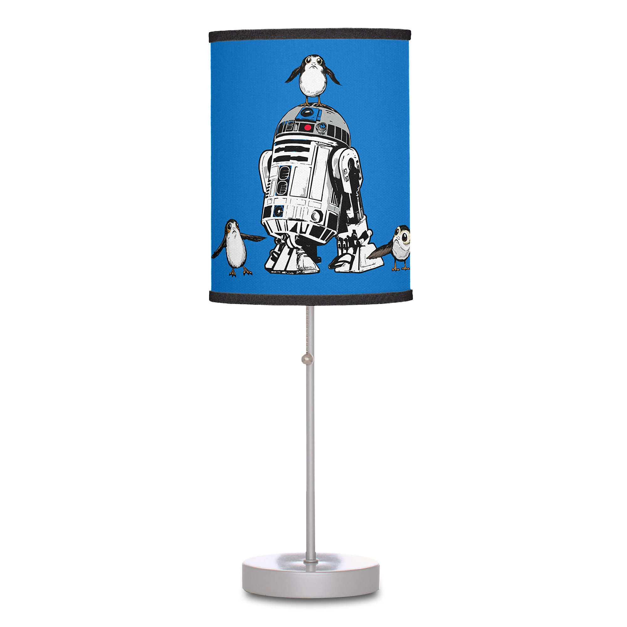 R2-D2 and Porgs Lamp - Star Wars: The Last Jedi - Customizable