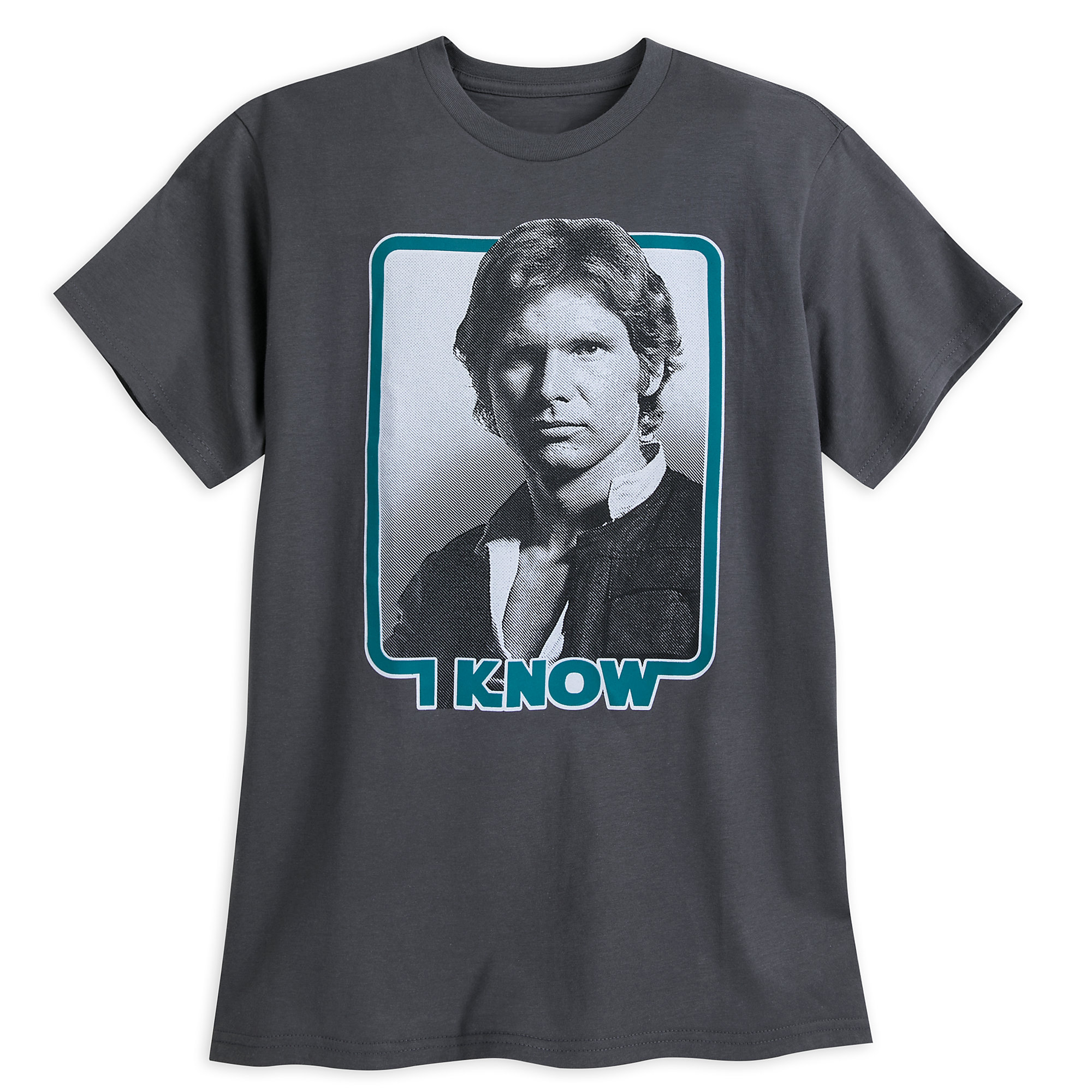 Han Solo ''I Know'' Couples T-Shirt for Men