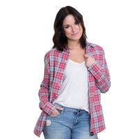 Image of Mulan Flannel Shirt for Adults by Cakeworthy # 6