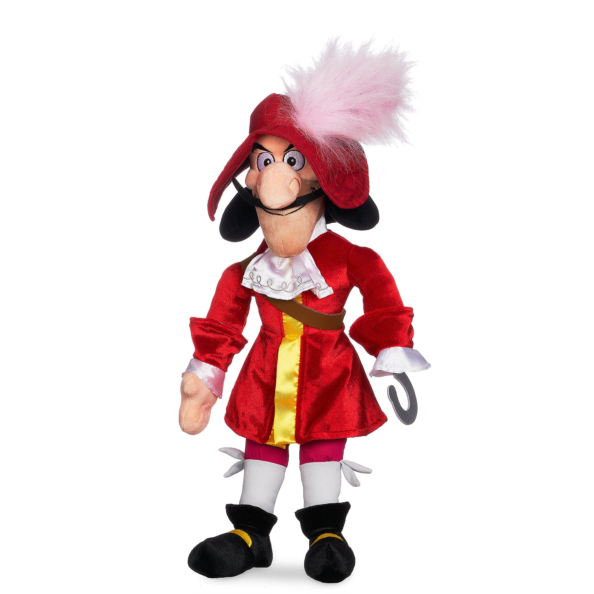 Captain Hook Plush - Peter Pan - Medium