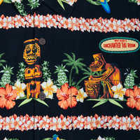 Image of Enchanted Tiki Room Silk Shirt for Men by Tommy Bahama # 4