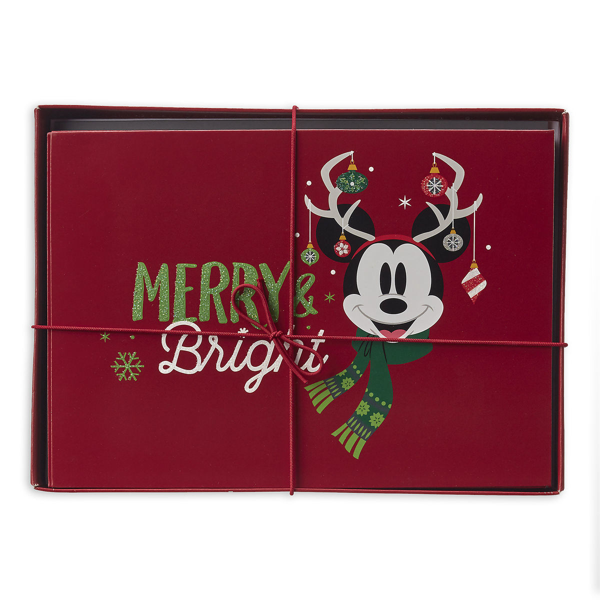 Santa Mickey Mouse and Friends Holiday Greeting Cards Set | shopDisney