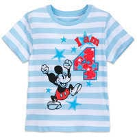 Image of Mickey Mouse Birthday Tee for Boys # 5