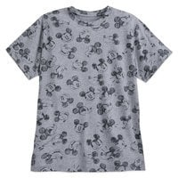 Mickey Mouse Allover T-Shirt for Men