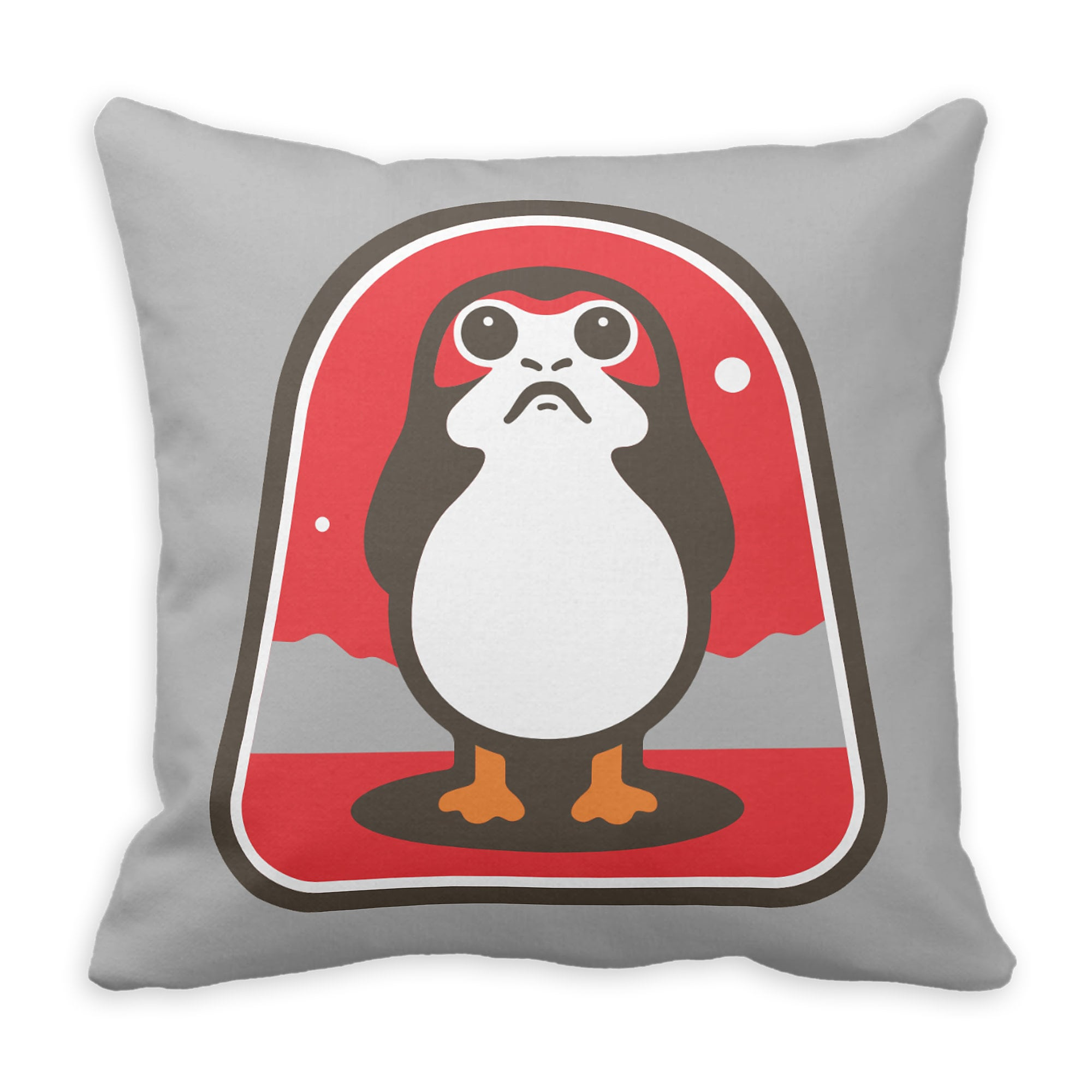 Porg Badge Pillow - Star Wars: The Last Jedi - Customizable