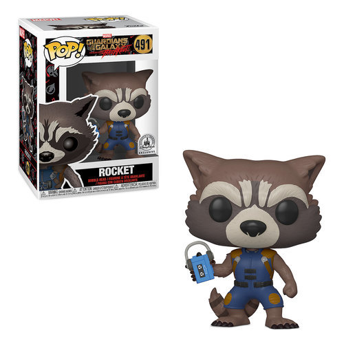 Rocket Pop! Vinyl Bobble-Head Figure by Funko - Guardians of the Galaxy: Mission Breakout