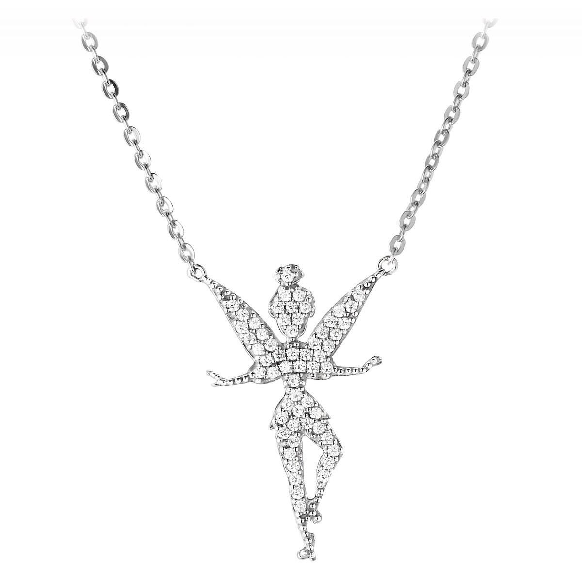 Tinker bell necklace by rebecca hook shopdisney product image of tinker bell necklace by rebecca hook 1 aloadofball Images