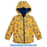 Mickey Mouse Color Changing Rain Jacket for Kids