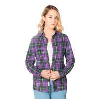 Image of Evil Queen Flannel Shirt for Adults by Cakeworthy # 2