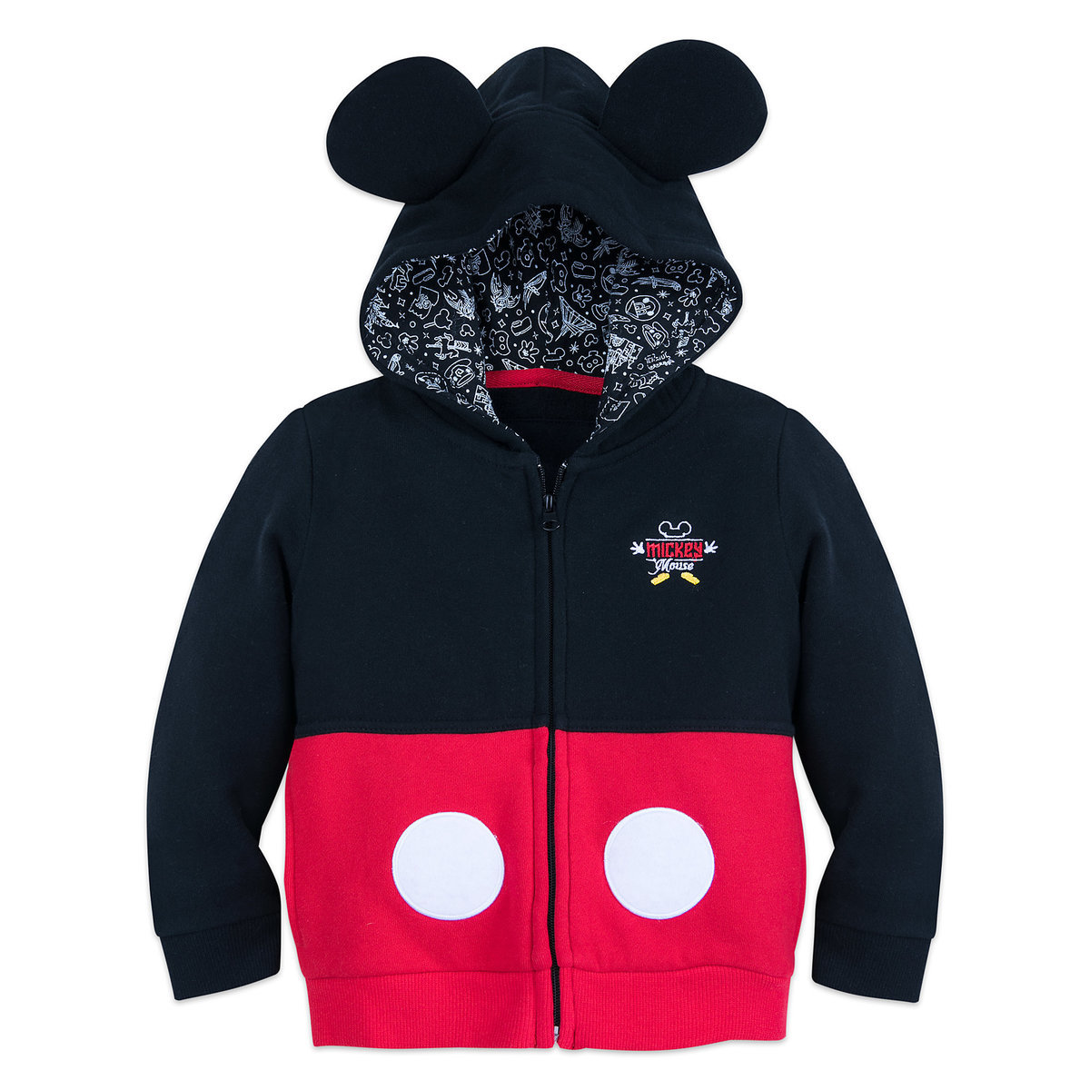 c2e321728 I Am Mickey Mouse Zip-Up Hoodie for Toddlers