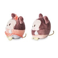 Image of Mickey and Minnie Mouse Ufufy Plush Set - Mini 2 1/2'' # 2