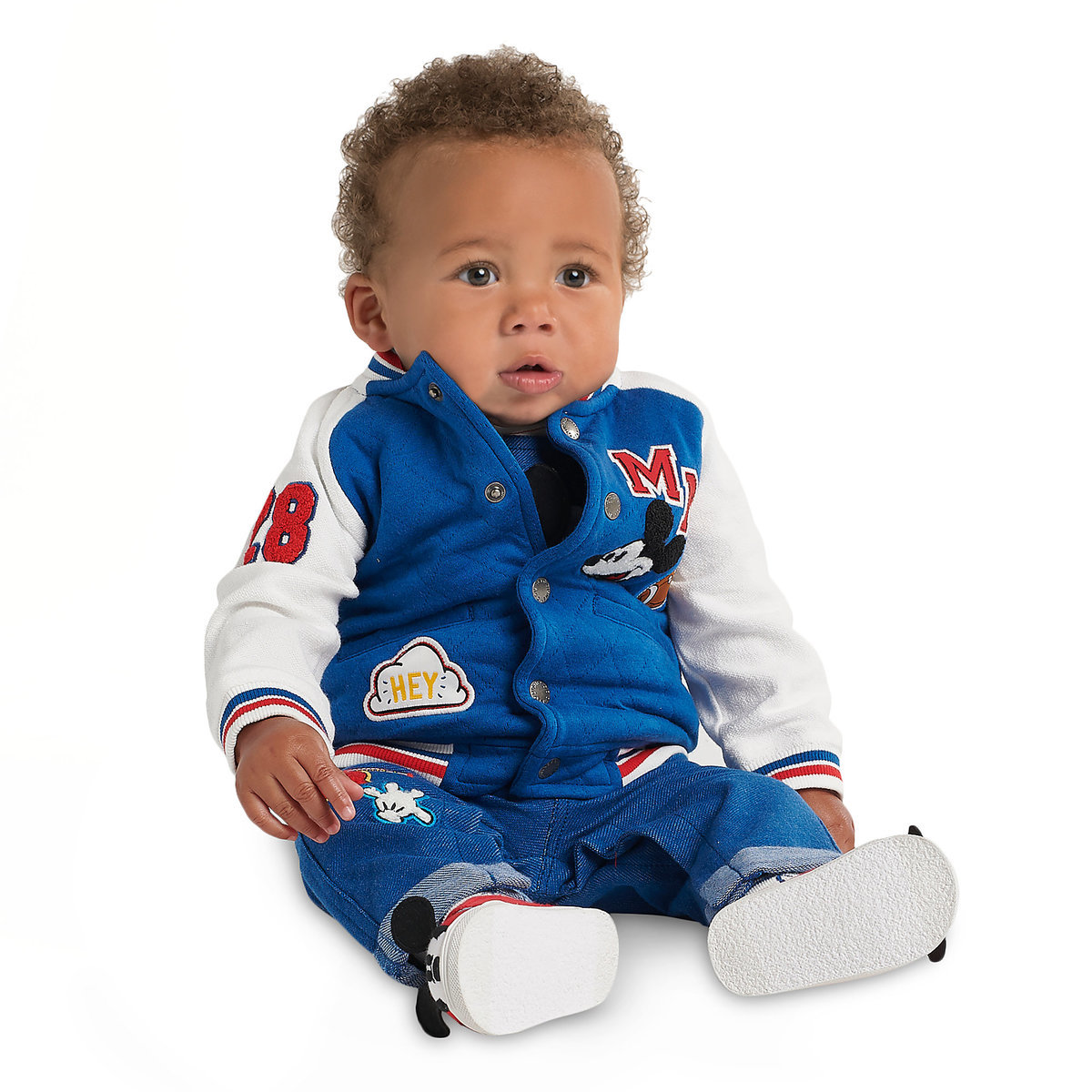 1f8decb3710 Mickey Mouse Varsity Jacket for Baby - Personalizable | shopDisney