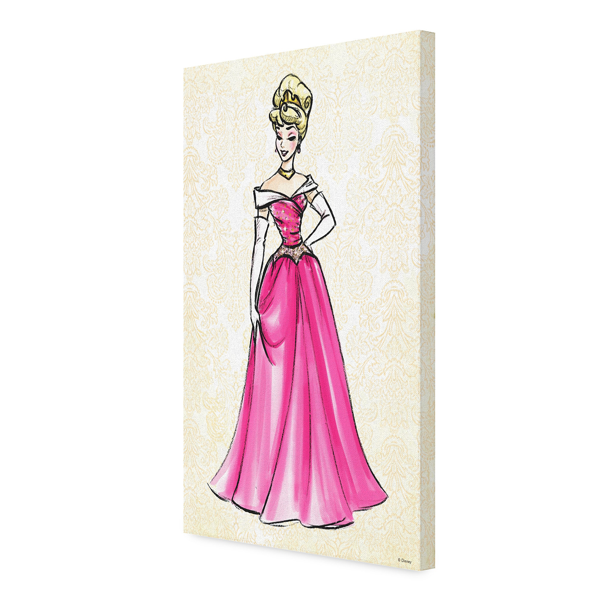 Aurora Canvas Print - Art of Princess Designer Collection