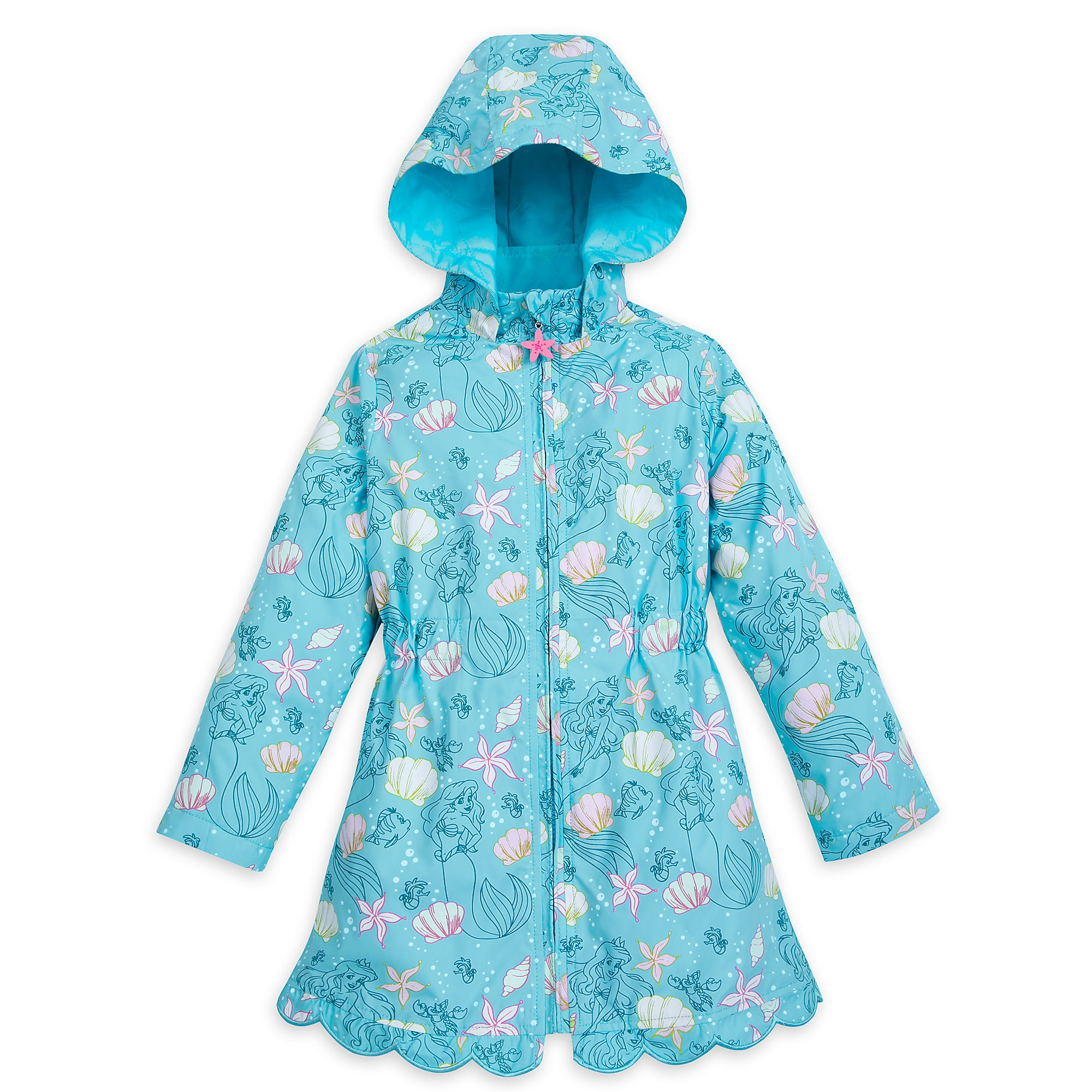 Ariel Color Changing Rain Jacket for Kids