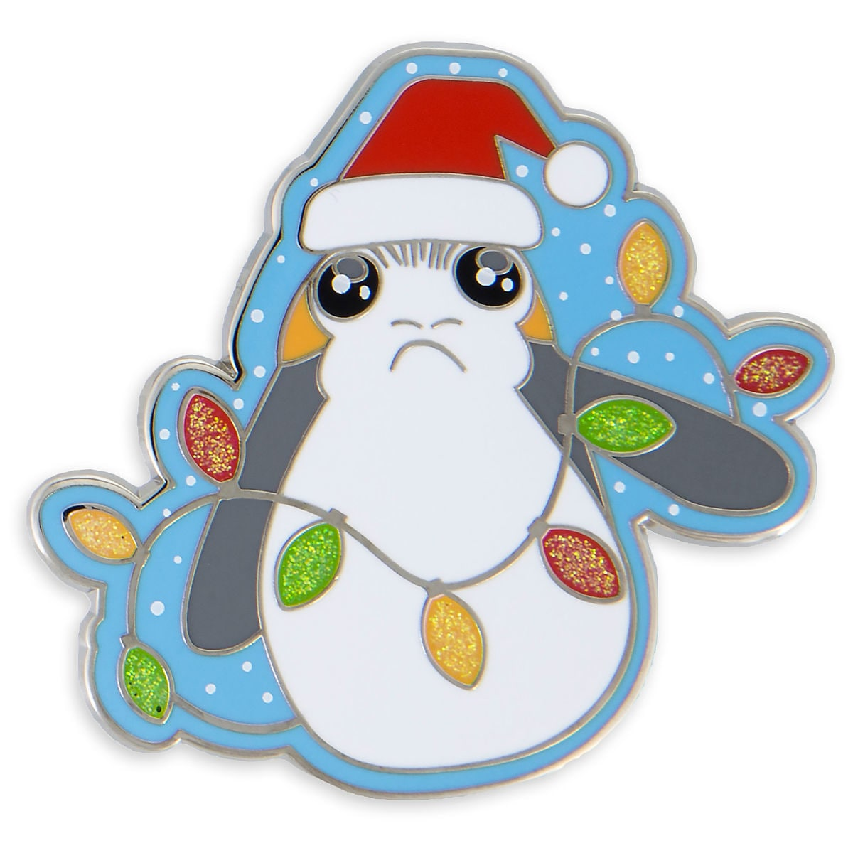 Product Image of Porg Holiday Pin - Star Wars: The Last Jedi # 1