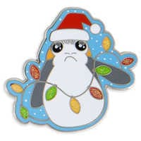 Image of Porg Holiday Pin - Star Wars: The Last Jedi # 1
