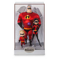 Image of Mr. Incredible, Violet, and Dash Doll Set - Disney Designer Collection PIXAR Animation Studios Series - Limited Edition # 2