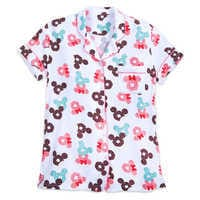 Image of Mickey and Minnie Mouse Donut Pajama Set for Women # 2