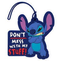 Image of Stitch Luggage Tag # 1
