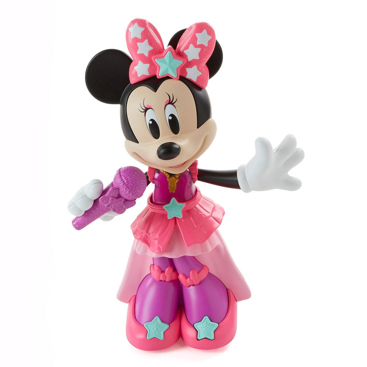 4210b92837b02 Product Image of Minnie Mouse Pop Superstar Doll by Fisher-Price # 1