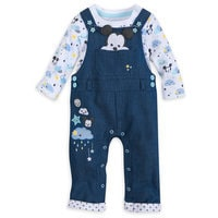Image of Mickey Mouse Dungaree Set for Baby # 1