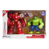 Image of Hulkbuster Deluxe Action Figure Set - Marvel Toybox # 7
