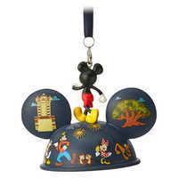 Image of Mickey Mouse Light-Up Ear Hat Ornament - Walt Disney World 2019 # 2