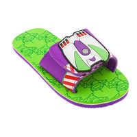 Image of Buzz Lightyear and Toy Story Alien Sandals for Kids # 1