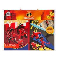 Image of Incredibles 2 Two-in-One Deluxe Puzzle Set # 2
