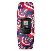 Image of Captain America Garmin vivofit jr. 2 Activity Tracker for Kids with Adjustable Band # 4