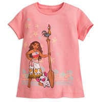 Image of Moana T-Shirt for Girls # 1