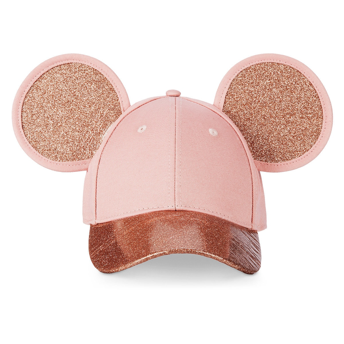 ff38009727786 Product Image of Mickey Mouse Rose Gold Ears Hat for Adults by Cakeworthy    1