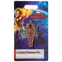 Image of Captain Marvel Limited Release Pin # 2