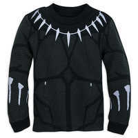 Image of Black Panther Costume PJ PALS for Boys # 2