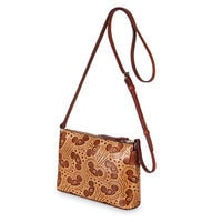 Mouseketeer Ear Hat Natural Leather Pouchette Bag by Dooney & Bourke