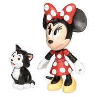 Image of Minnie Mouse and Figaro Action Figure Set - Disney Toybox # 2