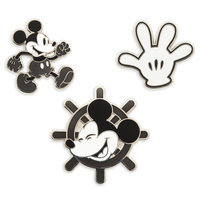 Image of Mickey Mouse Memories Pin Set - January - Limited Release # 1