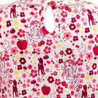 Snow White Knit Dress for Girls