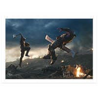 Image of Marvel's Avengers: Endgame Blu-ray Combo Pack Multi-Screen Edition with FREE Lithograph Set Offer - Pre-Order # 3