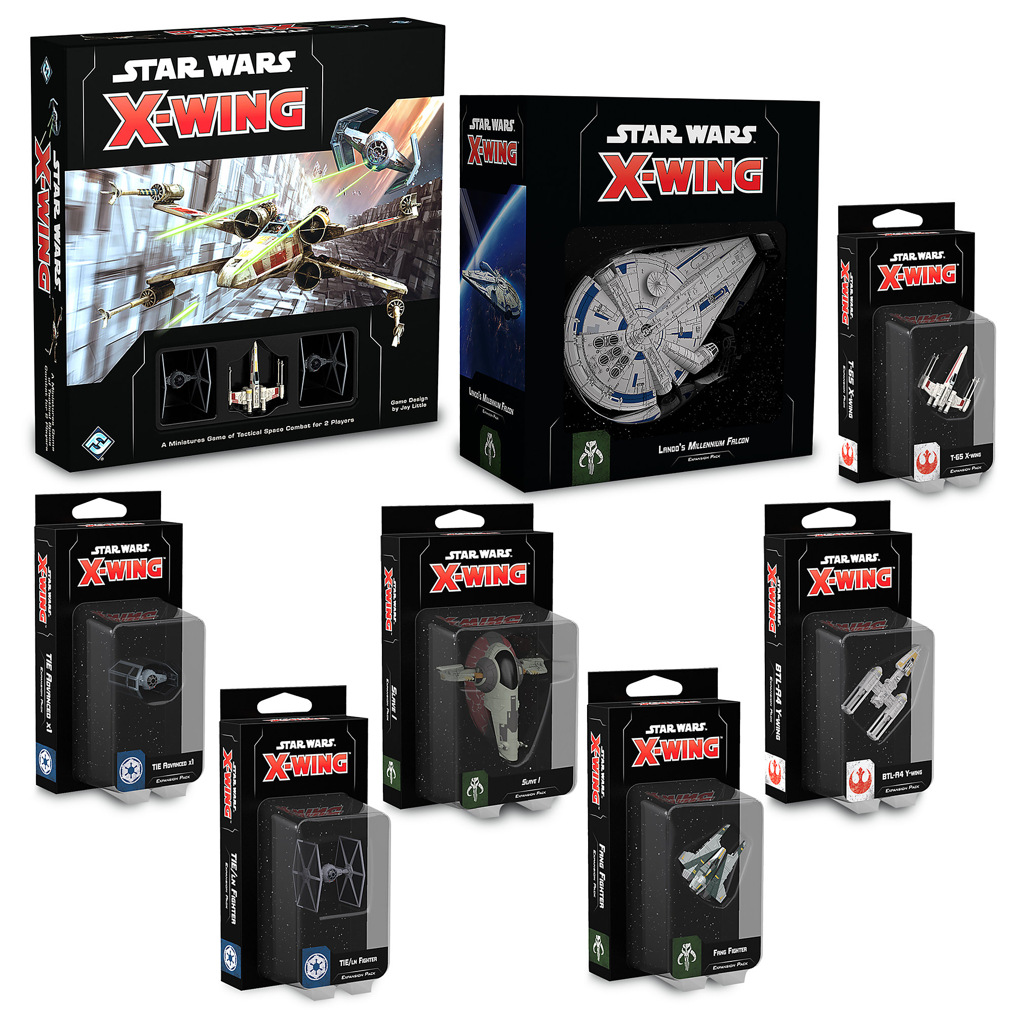 Star Wars Fantasy Flight X-Wing 2.0 Collection