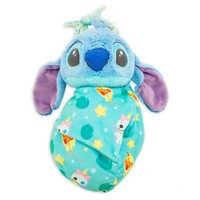 Image of Stitch Plush in Pouch - Disney Babies - Small # 1