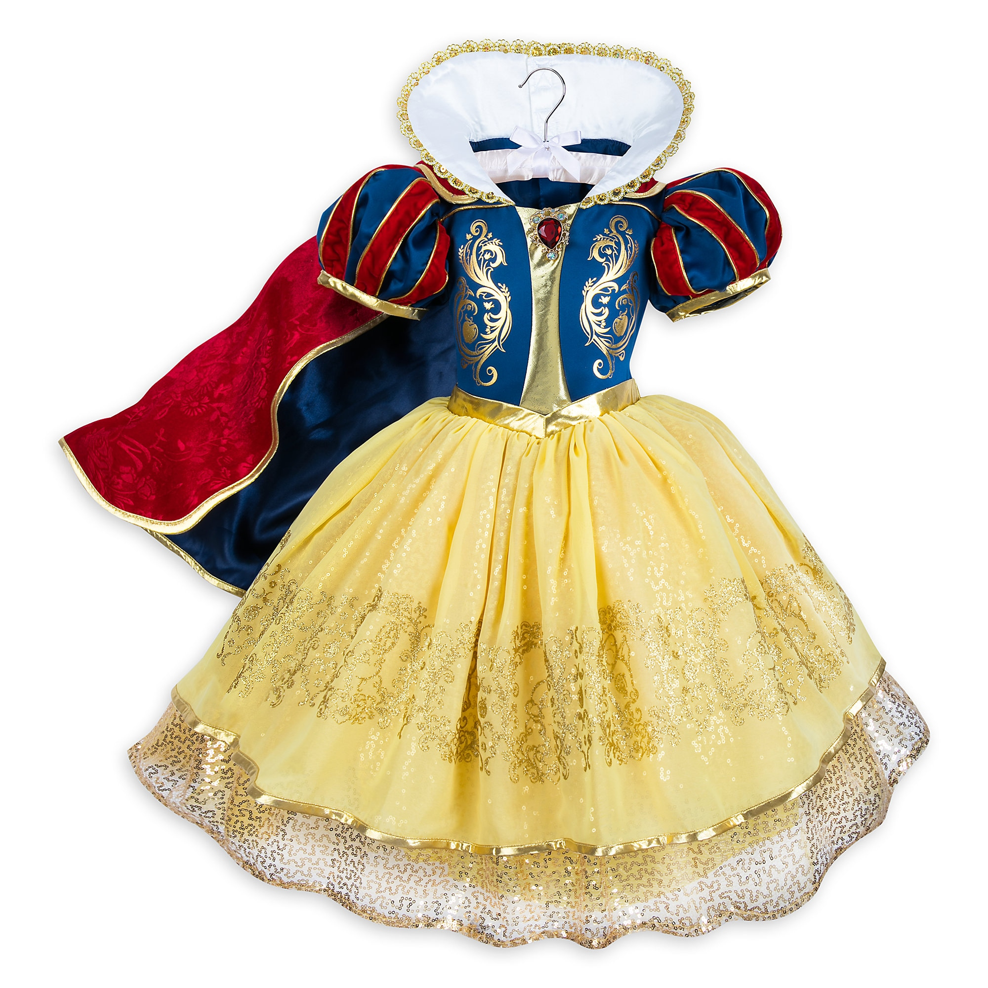 Product Image Of Snow White Deluxe Costume For Kids # 1