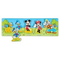 Mickey Mouse Deluxe Wooden Classic Toy Set by Melissa & Doug