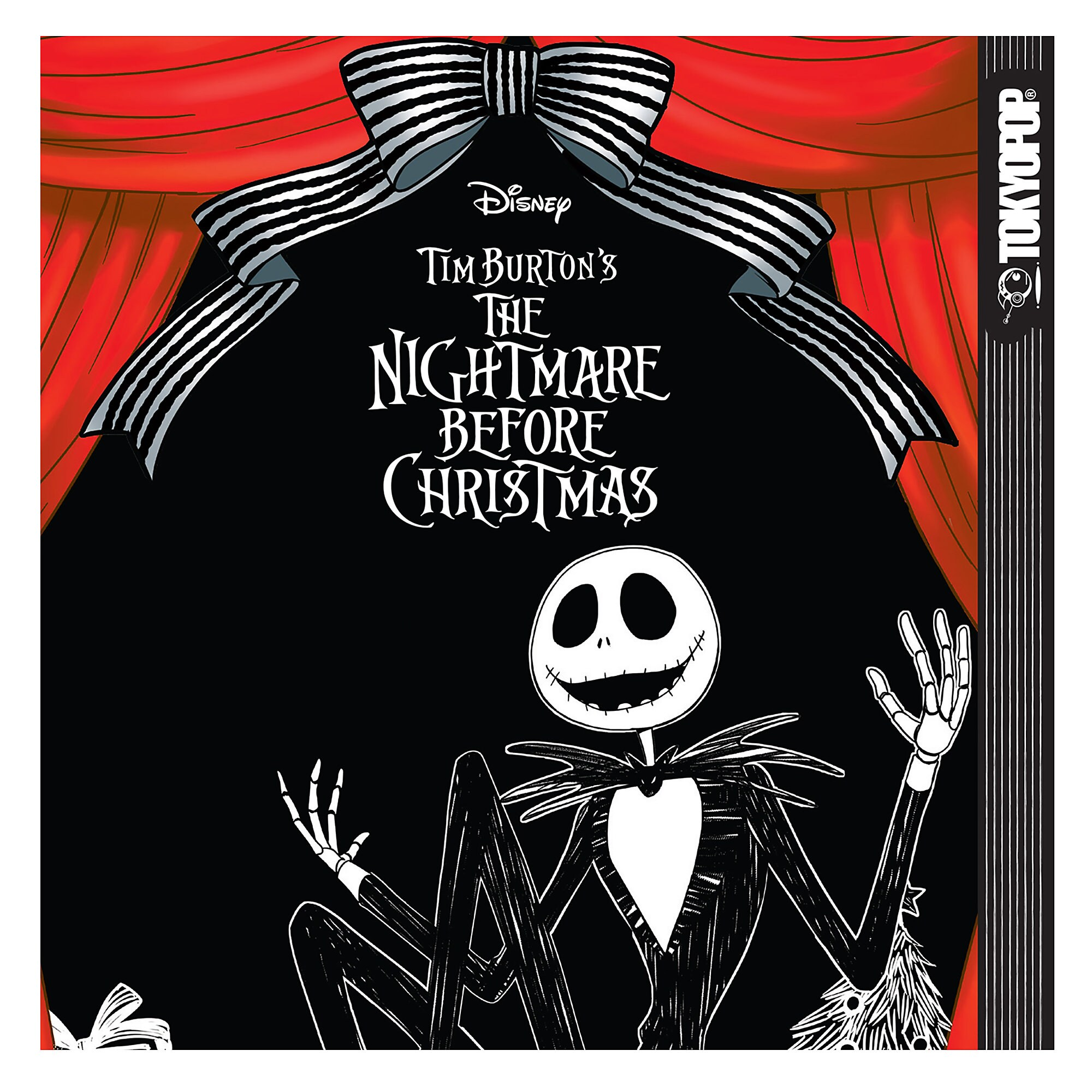 Tim Burton's The Nightmare Before Christmas Manga Book