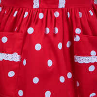 Image of Minnie Mouse Signature Apron for Adults - Personalizable # 4