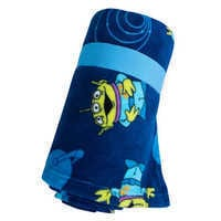Image of Toy Story Alien Fleece Throw - Personalizable # 3