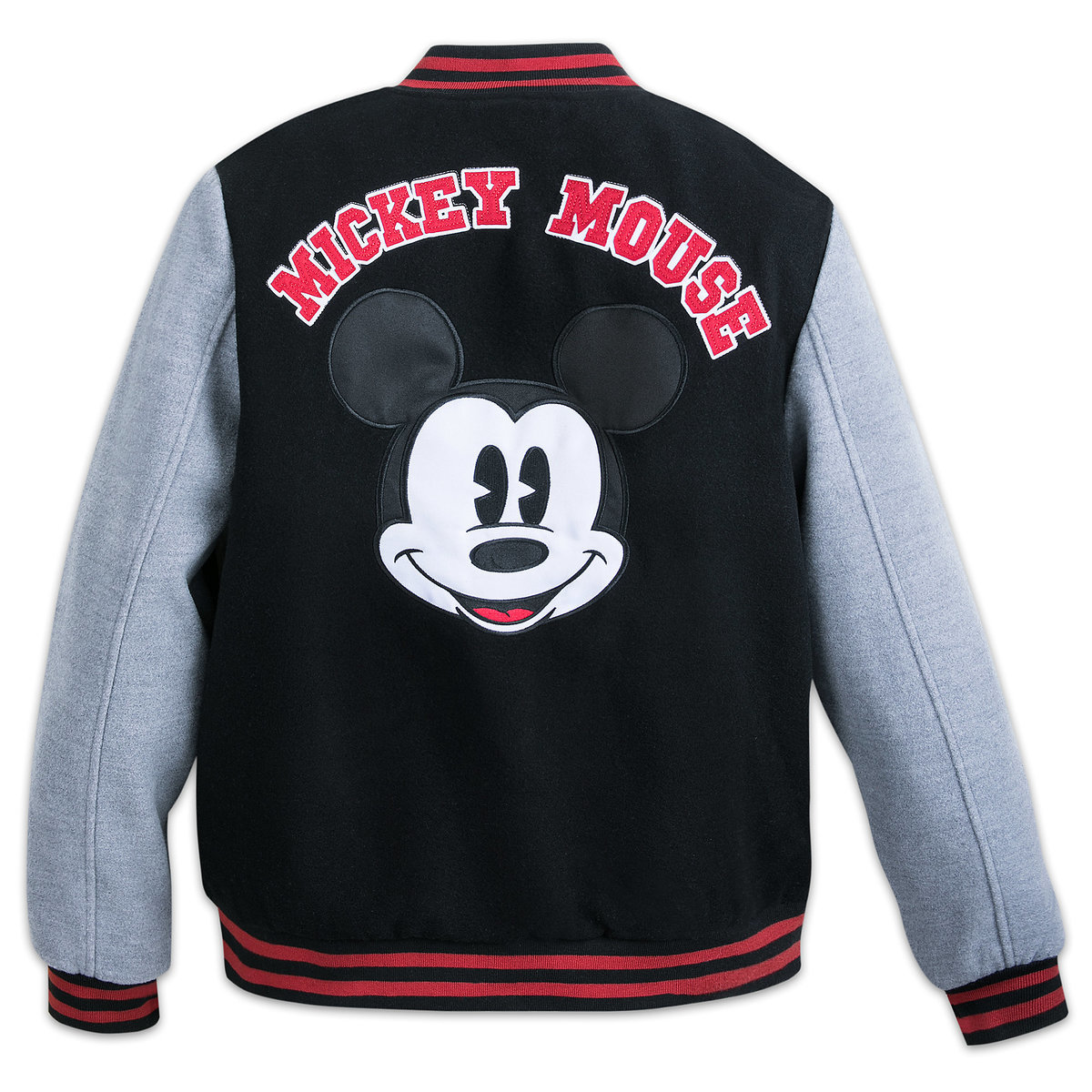 a7c90c169 Mickey Mouse Letterman Jacket for Adults