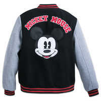 Image of Mickey Mouse Letterman Jacket for Adults # 2