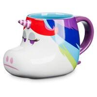 Image of Rainbow Unicorn Figural Mug - Inside Out # 1