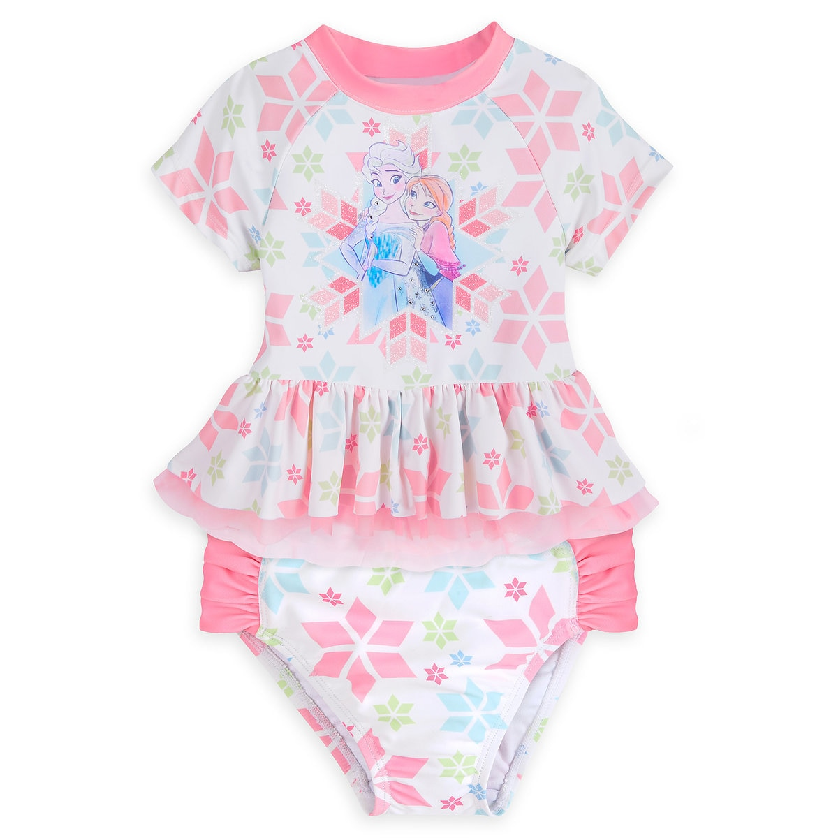 63fec6c0d4 Product Image of Frozen Two-Piece Swimsuit for Girls # 1